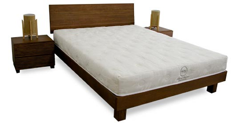 View Photo: Wave Bed Frame, oiled Solid European Oak