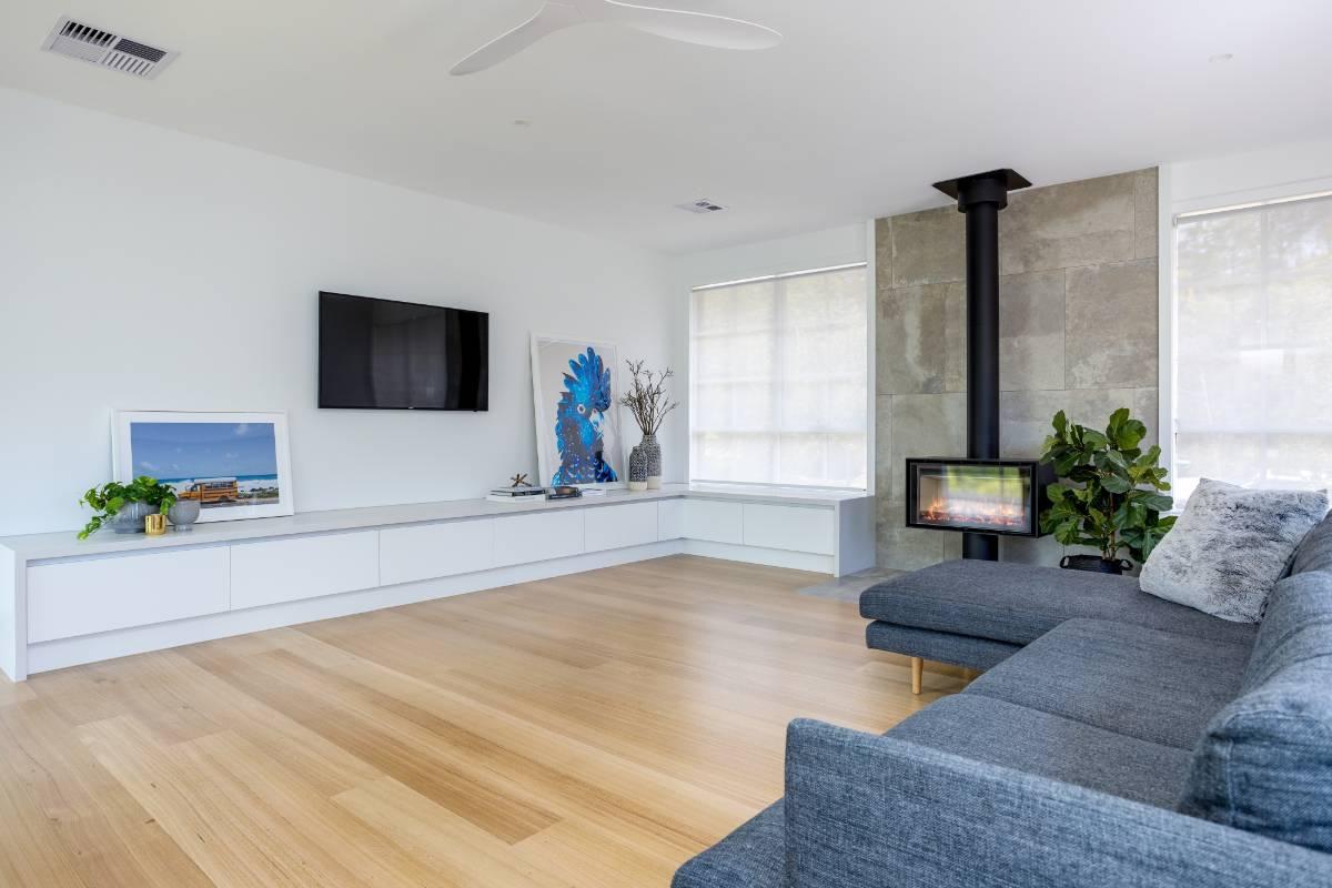 View Photo: Mount Martha Living Room Renovation