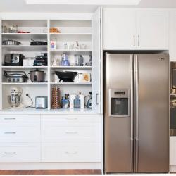 View Photo: Zesta Kitchens: Hidden Kitchen Appliance Cupboard