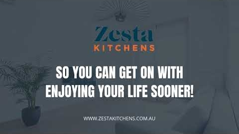 Watch Video: Zesta Kitchens OnTime Kitchen Renovations